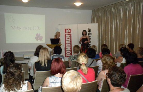 Predavanje na poslovnem dogodku podjetij Tondach in Wienerberger